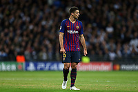 Clement Lenglet of FC Barcelona during Tottenham Hotspur vs FC Barcelona, UEFA Champions League Football at Wembley Stadium on 3rd October 2018