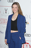 Morfydd Clark at the 2017 London Critics' Circle Film Awards held at the Mayfair Hotel, London. <br /> 22nd January  2017<br /> Picture: Steve Vas/Featureflash/SilverHub 0208 004 5359 sales@silverhubmedia.com