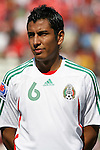 02 July 2007: Mexico's Omar Esparza. At the National Soccer Stadium, also known as BMO Field, in Toronto, Ontario, Canada. Mexico's Under-20 Men's National Team defeated Gambia's Under-20 Men's National Team 3-0 in a Group C opening round match during the FIFA U-20 World Cup Canada 2007 tournament.