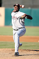 August 17 2008:  Pitcher Michael Pineda (31) of the Wisconsin Timber Rattlers, Class-A affiliate of the Seattle Mariners, during a game at Philip B. Elfstrom Stadium in Geneva, IL.  Photo by:  Mike Janes/Four Seam Images