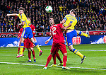 Solna 2013-11-19 Fotboll VM-kval Playoff , Sverige - Portugal :  <br /> Sverige Zlatan Ibrahimovic nickar in kvitteringen till 1-1 <br /> (Photo: Kenta J&ouml;nsson) Keywords:  Sweden Portugal