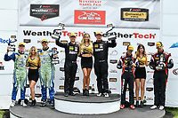 IMSA Continental Tire SportsCar Challenge<br /> Lime Rock Park 120<br /> Lime Rock Park, Lakeville, CT USA<br /> Saturday 22 July 2017 <br /> 27, Mazda, Mazda MX-5, ST, Britt Casey Jr, Matt Fassnacht, 25, Mazda, Mazda MX-5, ST, Chad McCumbee, Stevan McAleer, 84, BMW, BMW 328i, ST, James Clay, Tyler Cooke<br /> World Copyright: Richard Dole<br /> LAT Images<br /> ref: Digital Image RD_LRP_17_01186