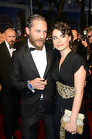 "Tom Hardy and girlfriend Charlotte Riley attending the ""Lawless"" Premiere during the 65th annual International Cannes Film Festival in Cannes, 19th May 2012...Credit: Timm/face to face /MediaPunch Inc. ***FOR USA ONLY***"