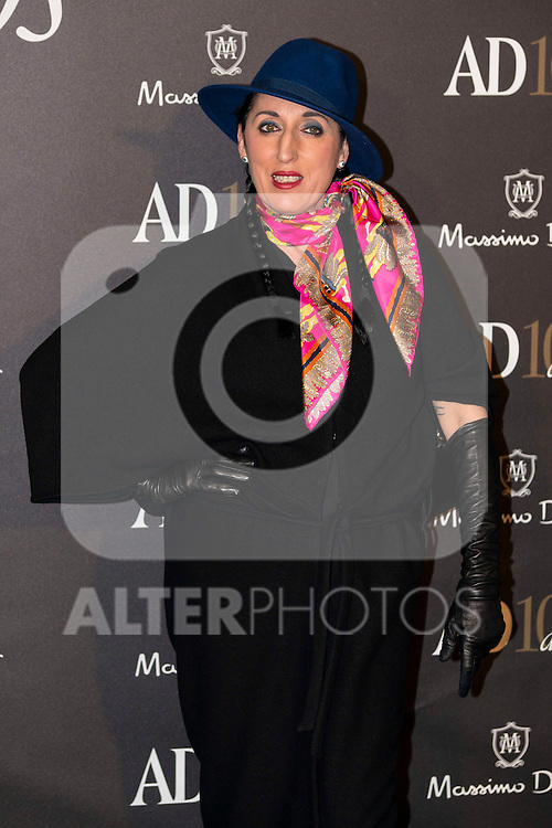 Rossy de Palma attends to the X edition of the awards AD Interior Design and Architecture at Hotel Ritz in Madrid, March 03, 2016<br /> (ALTERPHOTOS/BorjaB.Hojas