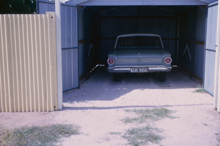 Ford Falcon on the suburban streets of Adelaide , Woodville, 26/12/64