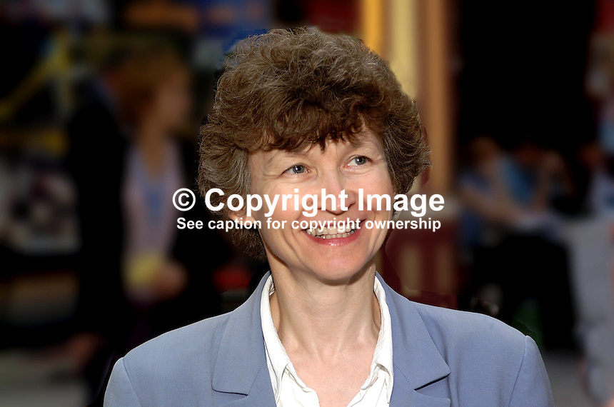 Ruth Lea, head of the policy unit, Institute of Directors, London, UK. Taken at Conservative Conference in Blackpool. Ref: 200110094198...Copyright Image from Victor Patterson, 54 Dorchester Park, Belfast, UK, BT9 6RJ..Tel: +44 28 9066 1296.Mob: +44 7802 353836.Voicemail +44 20 8816 7153.Skype: victorpattersonbelfast.Email: victorpatterson@mac.com.Email: victorpatterson@ireland.com (back-up)..IMPORTANT: If you wish to use this image or any other of my images please go to www.victorpatterson.com and click on the Terms & Conditions. Then contact me by email or phone with the reference number(s) of the image(s) concerned.