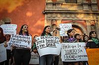 Queréatro, Qro. 8 de marzo de 2019.- Con motivo del Día Internacional de la Mujer se realizó una marcha de mujeres de diferentes frentes de lucha social para exigir derechos igualitarios. La marcha inicio en la Alameda Hidalgo y concluyó en el corazón de la capital del estado.