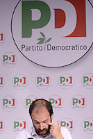 Roma, 17 Giugno 2015<br /> Matteo Orfini presenta la Festa de L'Unità di Roma nella sede nazionale del PD.