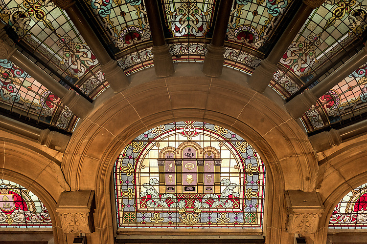 The Queen Victoria Building, now affectionately known as the QVB, was designed by George McRae and completed in 1898, replacing the original Sydney markets on the site. Built as a monument to the long reigning monarch, construction took place in dire times, as Sydney was in a severe recession.