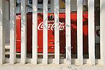 Original General Store porch. Old Coke machine.