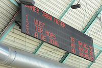 SCHAATSEN: HEERENVEEN: 26-10-2013, IJsstadion Thialf, NK afstanden, scorebord, uitslag 3000m dames, ©foto Martin de Jong