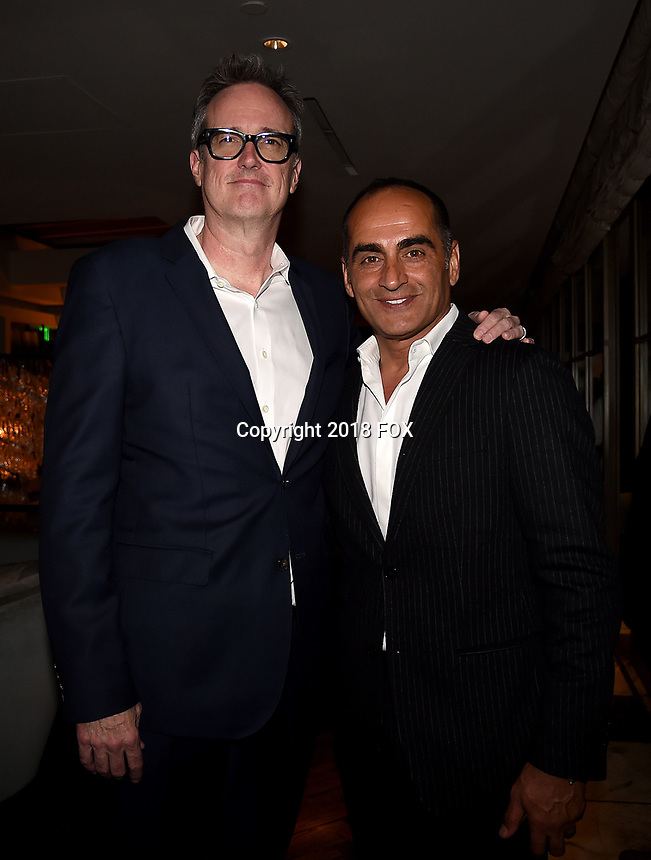 "LOS ANGELES, CA - APRIL 2: Executive Producer/Director John Cameron and Navid Negahban attend the party for the season two premiere of FX's ""Legion"" at the Soho House on April 2, 2018 in Los Angeles, California. (Photo by Frank Micelotta/FX/PictureGroup)"