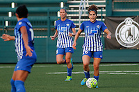 Rochester, NY - Friday May 27, 2016: Boston Breakers midfielder Angela Salem (26). The Western New York Flash defeated the Boston Breakers 4-0 during a regular season National Women's Soccer League (NWSL) match at Rochester Rhinos Stadium.