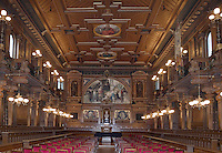 Europe/Allemagne/Bade-Würrtemberg/Heidelberg: Alte Aula grand Amphithéatre