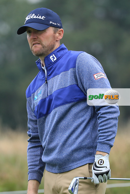 Michael Hoey (NIR) during the third round of the Porsche European Open , Green Eagle Golf Club, Hamburg, Germany. 07/09/2019<br /> Picture: Golffile   Phil Inglis<br /> <br /> <br /> All photo usage must carry mandatory copyright credit (© Golffile   Phil Inglis)
