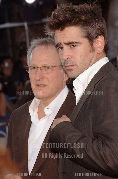 "Actor COLIN FARRELL & director MICHAEL MANN at the world premiere, in Los Angeles, of their new movie ""Miami Vice."".July 20, 2006  Los Angeles, CA.© 2006 Paul Smith / Featureflash"