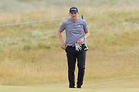 Matt Wallace (ENG) at the 15th green during Friday's Round 2 of the 2018 Dubai Duty Free Irish Open, held at Ballyliffin Golf Club, Ireland. 6th July 2018.<br /> Picture: Eoin Clarke | Golffile<br /> <br /> <br /> All photos usage must carry mandatory copyright credit (&copy; Golffile | Eoin Clarke)