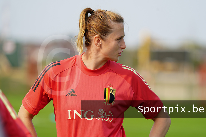 20200911 - TUBIZE , Belgium : Heleen Jacques picture during a training session of the Belgian Women's National Team, Red Flames , on the 11th of September 2020 in Tubize. PHOTO SEVIL OKTEM| SPORTPIX.BE