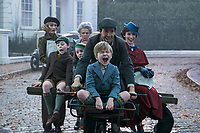 MARY POPPINS RETURNS (2018)<br /> EMILY MORTIMER, JULIE WALTERS, LIN-MANUEL MIRANDA, PIXIE DAVIES, NATHANIEL SALEH, JOEL DAWSON, EMILY BLUNT<br /> *Filmstill - Editorial Use Only*<br /> CAP/FB<br /> Image supplied by Capital Pictures