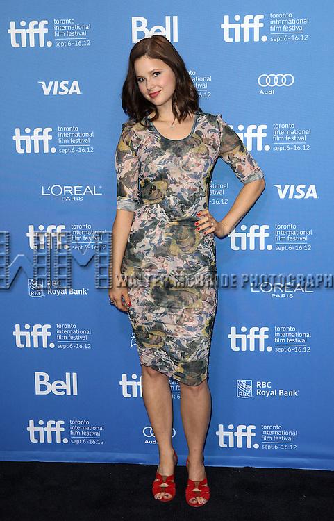 Rachel Korine attending the The 2012 Toronto International Film Festival.Photo Call for Spring Breakers' at the TIFF Bell Lightbox in Toronto on 9/7/2012