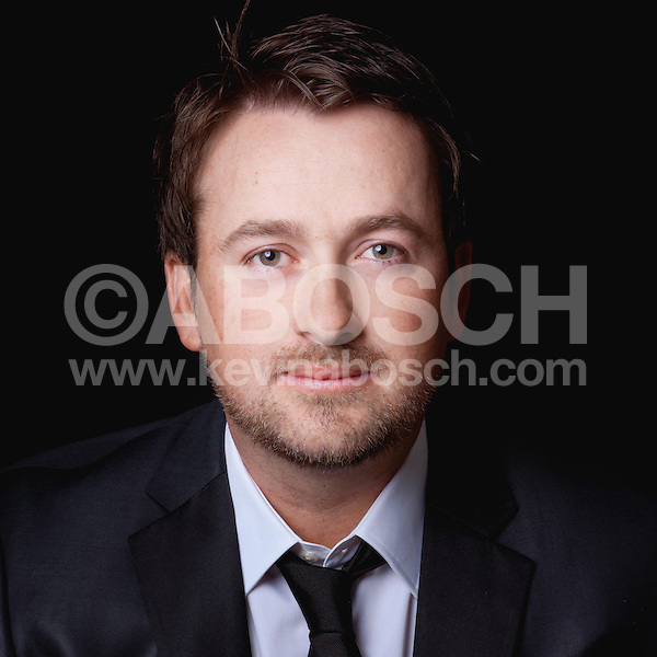 Portrait of Graeme McDowell photographed by Kevin Abosch