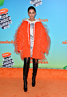 LOS ANGELES, CA. March 23, 2019: Naomi Scott at Nickelodeon's Kids' Choice Awards 2019 at USC's Galen Center.<br /> Picture: Paul Smith/Featureflash