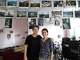 Katja-und-David im Jugendzentrum Wilna-Chata / Kramatorsk liegt im ukrainischen Teil des Donbass 80 km von der Frontlinie entfernt. Die Bewohner sind sehr patriotisch.