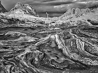 White Pocket with rain water pools. Vermilion Cliffs National Monument, Arizona