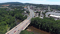 Free bridge at HWY 250 over the Rivanna River in Charlottesville, VA. Photo/Andrew Shurtleff