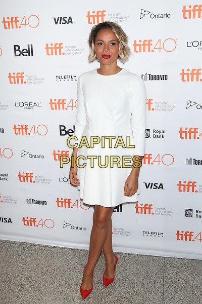 Toronto, Canada - September 13: Carmen Ejogo  attends the 'Born To Be Blue' premiere at the 2015 Toronto International Film Festival on September 13, 2015 in Toronto, Canada.<br /> CAP/MPI/COR<br /> &copy;COR/MPI/Capital Pictures