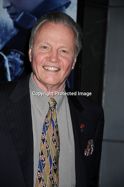 """actor Jon Voight.posing for photographers at The New York Premiere of .""""Pride and Glory"""" on October 15, 2008 at The AMC Loews Lincoln Square 13 Theatre in New York City. .Edward Norton, Colin Farrell, Jon Voight, Noah Emmerich, Jennifer Ehle, Lake Bell, John Ortiz and Frank Grillo are in the movie, ..Robin Platzer, Twin Images"""