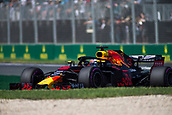 23rd March 2018, Melbourne Grand Prix Circuit, Melbourne, Australia; Melbourne Formula One Grand Prix, Friday free practice; The number 3 Aston Martin Red Bull driven by Daniel Ricciardo
