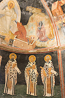 Church of St Saviour in Chora, Kariye Museum St Savior mosaic fresco Jesus Christ biblical scene, Istanbul, Turkey