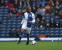 Blackburn Rovers' Ryan Nyambe<br /> <br /> Photographer Stephen White/CameraSport<br /> <br /> The EFL Sky Bet Championship - Blackburn Rovers v Preston North End - Saturday 18th March 2017 - Ewood Park - Blackburn<br /> <br /> World Copyright &copy; 2017 CameraSport. All rights reserved. 43 Linden Ave. Countesthorpe. Leicester. England. LE8 5PG - Tel: +44 (0) 116 277 4147 - admin@camerasport.com - www.camerasport.com