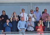 08/05/2016 Sky Bet League 1 Fleetwood Town v <br /> Crewe Alexandra<br /> Fleetwood Town Chairman, Andy Pilley