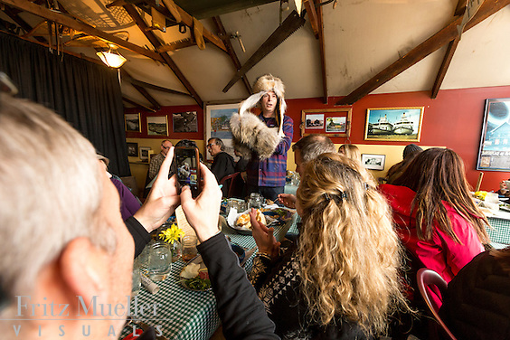 Yukon Whisky Dinner Tour with Eric Pateman of Edible Canada, Whitehorse, Yukon, Canada, April 2015