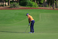 Rafa Cabrera-Bello (ESP) on the 18th fairway during the Pro-Am for the DP World Tour Championship at the Jumeirah Golf Estates in Dubai, UAE on Monday 16/11/15.<br /> Picture: Golffile | Thos Caffrey<br /> <br /> All photo usage must carry mandatory copyright credit (&copy; Golffile | Thos Caffrey)