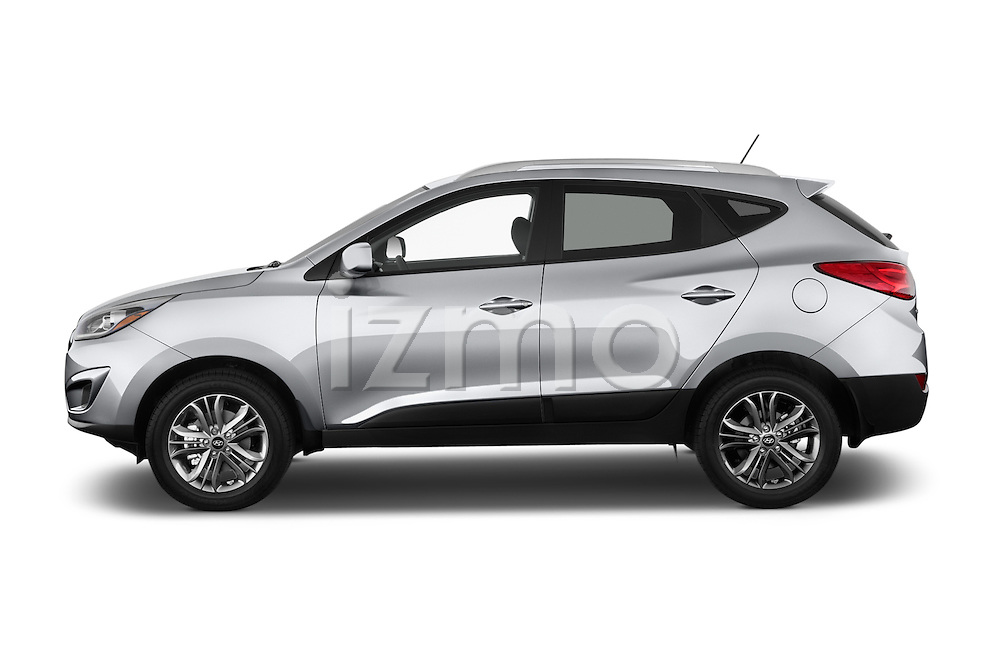 Car Driver side profile view of a 2015 Hyundai Tucson SE Awd 5 Door Suv 2WD  sc 1 st  izmostock & 2015 Hyundai Tucson SE Awd 5 Door Suv 2WD Side View Car Pics | izmostock