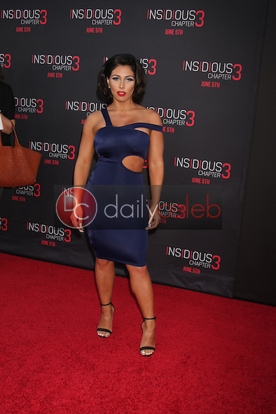 Carmen Ortega at the &quot;Insidious Chapter 3&quot; Premiere, TCL Chinese Theater, Hollywood, CA 06-04-15<br /> David Edwards/DailyCeleb.com 818-249-4998