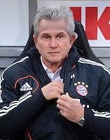 FUSSBALL   1. BUNDESLIGA  SAISON 2012/2013   12. Spieltag 1. FC Nuernberg - FC Bayern Muenchen      17.11.2012 Trainer Jupp Heynckes (FC Bayern Muenchen)