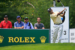 Jeev Milkha Singh (IND) tees off on the 3rd tee during Day 3 of the BMW Italian Open at Royal Park I Roveri, Turin, Italy, 11th June 2011 (Photo Eoin Clarke/Golffile 2011)