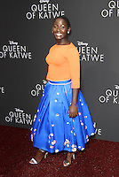 "20 September 2016 - Hollywood, California - Madina Nalwanga. ""Queen Of Katwe"" Los Angeles Premiere held at the El Capitan Theater in Hollywood. Photo Credit: AdMedia"