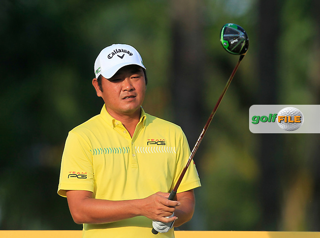 Danny Chai (MAS) on the 11th tee during Round 2 of the Maybank Championship on Friday 10th February 2017.<br /> Picture:  Thos Caffrey / Golffile<br /> <br /> All photo usage must carry mandatory copyright credit      (&copy; Golffile   Thos Caffrey)