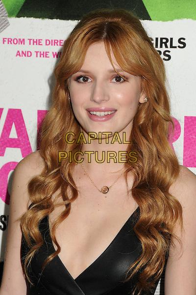 4 February 2014 - Los Angeles, California - Bella Thorne. &quot;Vampire Academy&quot; Los Angeles Premiere held at Regal Cinemas L.A. Live. <br /> CAP/ADM/BP<br /> &copy;Byron Purvis/AdMedia/Capital Pictures