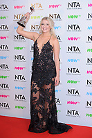 Lucy Fallon at the National Television Awards 2018 at the O2 Arena, Greenwich, London, UK. <br /> 23 January  2018<br /> Picture: Steve Vas/Featureflash/SilverHub 0208 004 5359 sales@silverhubmedia.com