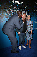 WEST HOLLYWOOD, CA - AUGUST 7: Shaquille O'Neal, James Corden and Julia Carey at the Carpool Karaoke: The Series on Apple Music Launch Party at Chateau Marmont in West Hollywood, California on August 7, 2017. <br /> CAP/MPI/FS<br /> &copy;FS/MPI/Capital Pictures