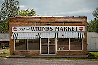 Wrinks Food Market in Lebanon Missouri on Route 66, was operated by Glenn Wrinkle from 1950 to 2005 when he died.