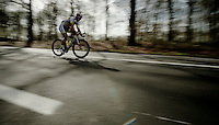 lone rider<br /> <br /> Nokere Koerse 2014