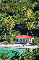 Maho Bay Pavilion<br /> Maho Bay<br /> Virgin Islands National Park<br /> St. John, US Virgin Islands