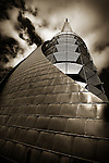 The copper clad Bell Tower on the Swan River in Perth, Western Australia is a really challenging photographic subject. By isolating elements of the structure and applying a classic black and white treatment, this local landmark takes on a whole new perspective.